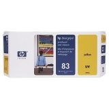 Cap Imprimare & Cleaner Yellow Nr.83 C4963A Original Hp Designjet 5000