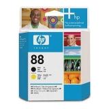 Cap Imprimare Black & Yellow Nr.88 C9381A Original Hp Officejet Pro K550