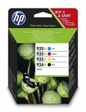 Value Pack Nr.934Xl/935Xl X4E14Ae Bk/C/M/Y Original Hp Officejet Pro 6830 E-Aio