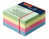 Cub hartie adezive 75 x 75 mm 100 file 4 culori Herlitz