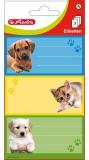 Etichete scolare animale 9 buc/set Herlitz