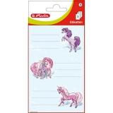 Etichete scolare Unicorn 9 buc/set Herlitz