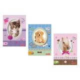 Bloc notes A6, 46 file, matematica Pretty Pets Herlitz