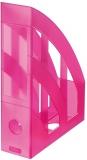 Suport dosare A4 roz translucid Herlitz