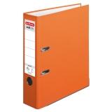 Biblioraft A4 75 mm portocaliu Herlitz
