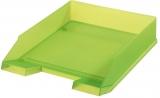 Tavita corespondenta A4-C4 clasic verde translucid Herlitz
