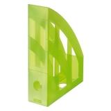 Suport dosare PP verde translucid Herlitz