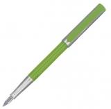 Stilou Basic, penita M, verde-argintiu Herlitz