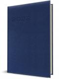 Agenda Herlitz, A4, datata, saptamanala, albastru inchis, 2022