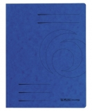 Dosar carton plic A4 albastru Herlitz