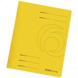 Dosar carton color, galben, cu sina, Herlitz