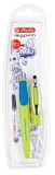 Stilou My.Pen, penita M, lemon/albastru intens Herlitz