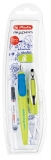 Stilou pentru stangaci My.Pen, penita L, lemon/albastru Herlitz
