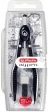 Compas My.Pen cu sistem setare rapida negru/gri Herlitz