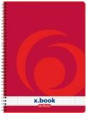Caiet cu spira A4, 160 file, matematica X.Book Herlitz