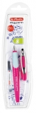 Stilou pentru stangaci My.Pen, penita L, lila/menta Herlitz