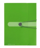 Mapa PP A4 40 mm verde Herlitz