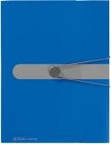 Dosar plic A4 Easy Orga to go 12 compartimente albastru opac Herlitz