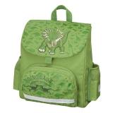 Ghiozdan neechipat Mini Softbag Green Dino Herlitz