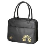 Geanta fashion Be.Bag Messenger negru metalic Herlitz
