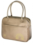 Geanta fashion Be.Bag Messenger auriu metalic Herlitz