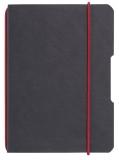 Caiet My.Book Flex A5 40 file patratele negru Herlitz