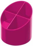 Suport instrumente de scris roz electrizant Herlitz