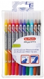 Fineliner + carioca My.Pen 10 buc/set Herlitz