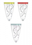 Parabola plastic My.pen 3 culori Herlitz