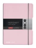 Caiet My.Book Flex A5 40 file patratele roz Herlitz