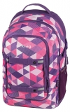 Rucsac Be.Bag ergonomic Beat Purple Checked Herlitz