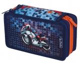 Penar echipat 3 compartimente 31 piese Smart Motorbike Herlitz