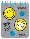 Bloc notes 8 x 10 cm 70 file Smiley World Fancy Herlitz
