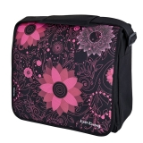 Geanta de umar messenger Be.Bag Ornament Flowers Herlitz