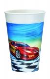 Pahar plastic imprimat Super Race Herlitz