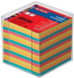 Cub notes cu suport 9 x 9 x 9 cm 650 file color Herlitz