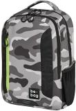 Rucsac Be.Bag, Be.Adventurer Camouflage + stilou gratis Herlitz
