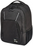 Rucsac Be.Bag, model Be.Simple Digital Black + stilou gratis Herlitz