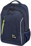 Rucsac Be.Bag, Be.Urban albastru indigo + stilou gratis Herlitz