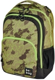 Rucsac Be.Bag, Be.Ready Abstract Camouflage + stilou gratis Herlitz
