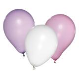 Baloane Princess culori asortate helium biodegradabile 10 buc/set Herlitz