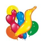 Baloane diverse forme si culori 150 buc/set Herlitz
