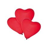 Baloane rosii forma inima 50 buc/set Herlitz