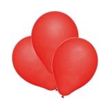 Baloane rosii helium  biodegradabile 100 buc/set Herlitz