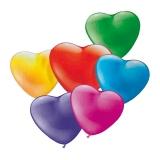 Baloane mini forma inima diverse culori 20 buc/set Herlitz