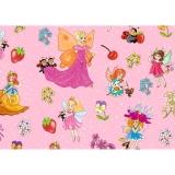 Hartie impachetat 2 m x 70 cm fairy dreams Herlitz