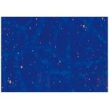 Hartie impachetat 2 m x 70 cm albastra cu puncte Herlitz