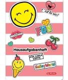 Caiet teme A5 48 file SmileyWorld Girly Herlitz