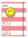 Caiet My.Book Flex A4 2x40 file dictando+patratele SmileyWorld Girly Herlitz