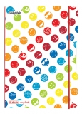 Caiet My.Book Flex A5 40 file patratele SmileyWorld Rainbow Herlitz